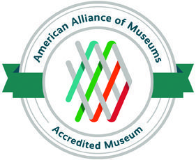 Accreditation logo of the Alliance of American Museums
