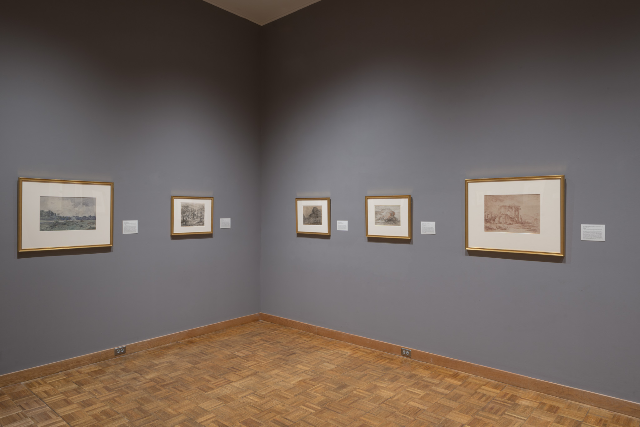 The Artist's View: Landscape Drawings from the Crocker Art Museum