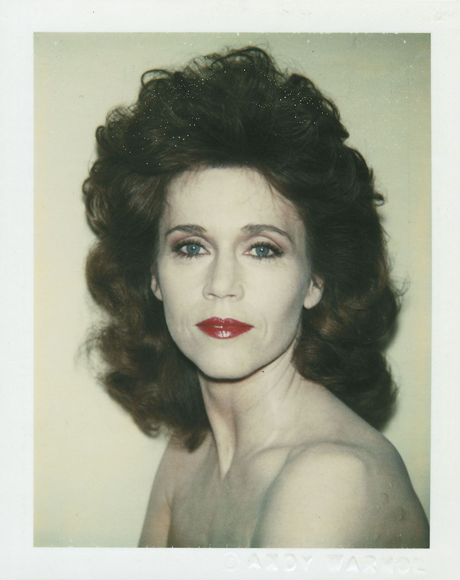 Andy Warhol (American, 1928–1987), <em>Jane Fonda</em>, 1983, © The Andy Warhol Foundation for the Visual Arts, Inc. Polaroid photograph. Gift of the Andy Warhol Foundation for the Visual Arts, 2008.026.053.