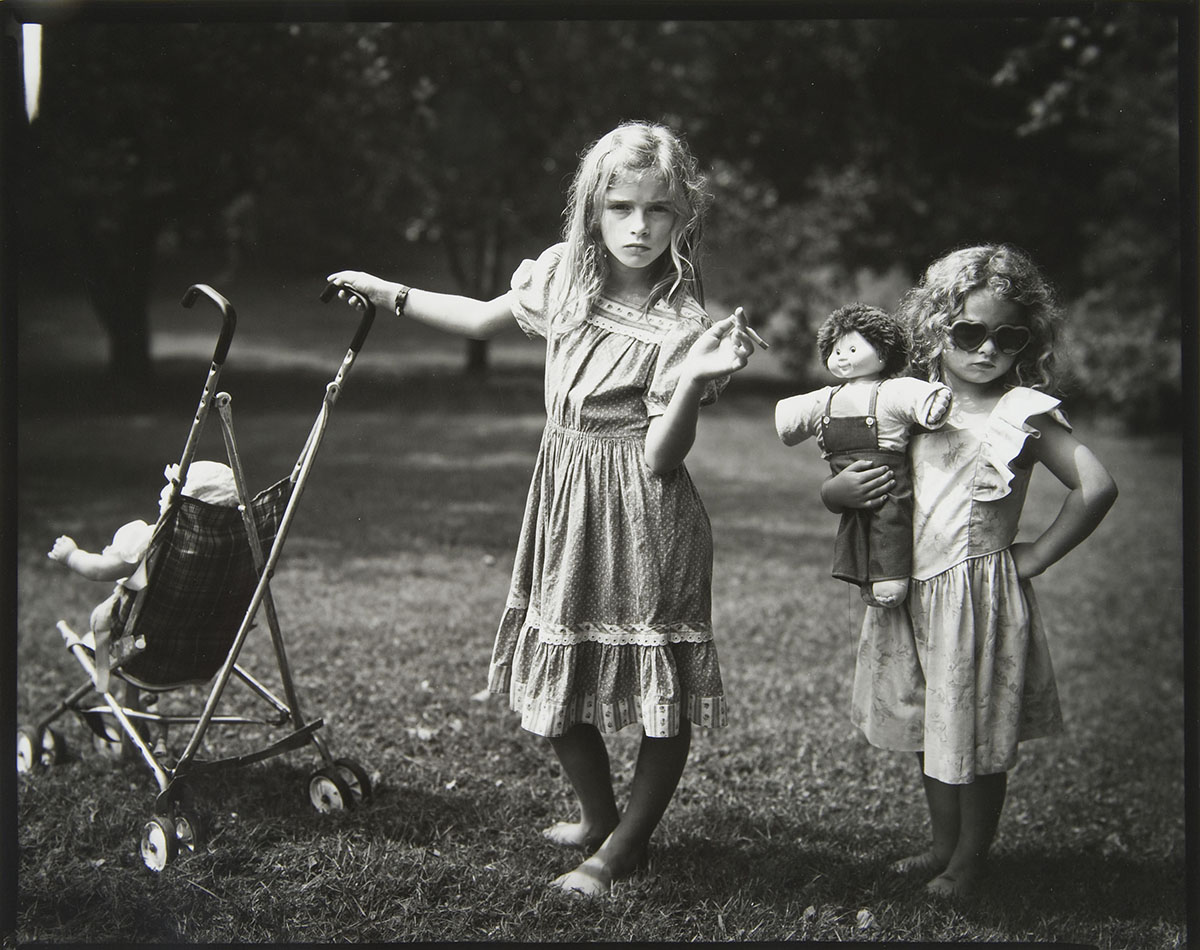 Sally Mann (American, b. 1951), <em>New Mothers</em>, 1989, gelatin silver print. Gift of Bill, ND '65 and Ann Marie McGraw, 2009.047.008
