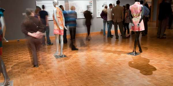 recent public reception for BFA/MFA exhibition