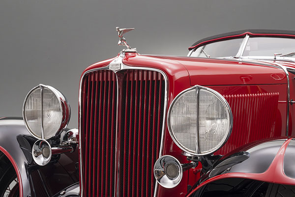 Award-winning 1932 Auburn 8-100A Speedster generously lent from the Jack B. Smith Jr. Automobile Collection.