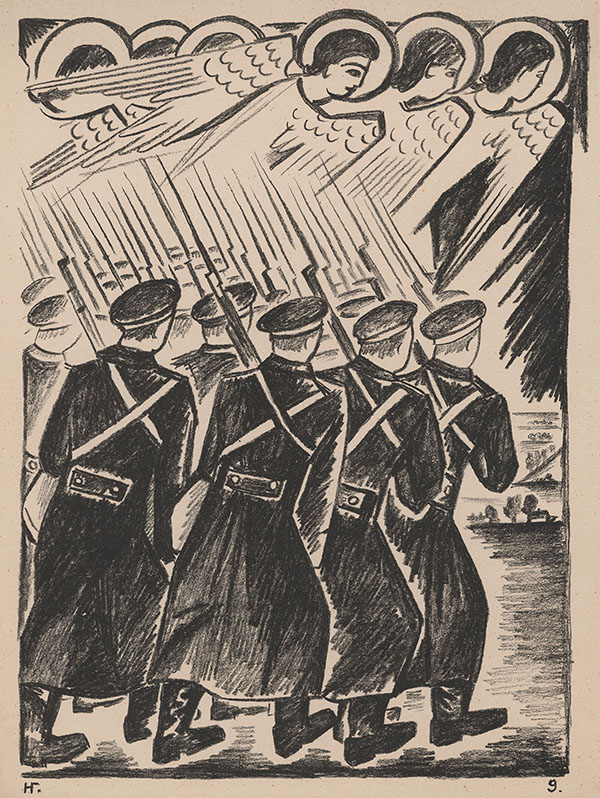 Natalia Goncharova's Mystical Images of War, 1914