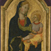 Gualitieri di Giovanni da Pisa (Italian, active early 15th century), Madonna and Child, tempera and gold on panel, 34 x 21.25 inches (framed). Gift of the Kress Foundation, 1961.047.003