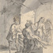 Gaetano Gandolfo (Italian, 1734–1802), <em>Deposition</em>, n.d., ink wash on paper, 7 x 5.63 inches (sheet). Gift of Professor Luigi Gregori, 1934.004.010
