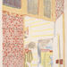 Edouard Vuillard (French, 1868–1940), <em>Interior with Pink Wallpaper, iii</em>, 1899, five-color lithograph, 14.25 x 11.5 inches (sheet). Acquired with funds from the Walter R. Beardsley Endowment for Modern and Contemporary Art, 2011.013