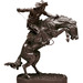 Frederic Remington, BRONCO BUSTER, 1895-1895, Bronze, 24 x 21x 12in., Gift of Mr. Charles Jones, 1963.041
