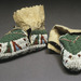 <em>Pair of Baby Moccasins</em>, c. 1915, American, Lakota, buckskin, sinew, glass beads, Gift of Mr. Edward F. Riley, 1975.040.013