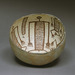 Mimbres/Mogollon Culture (New Mexico/Arizona), <em>Bowl with Dancing Figures</em>, 750-900, slipped earthenware, Gift of Mr. and Mrs. Paul B. Markovits, 2003.026