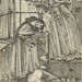 Edward Burne-Jones (British, 1833–1898), <em>Study for the Wise and Foolish Virgins</em>, ca. 1857, pen and ink with black wash and graphite, 13.5 × 9 inches. Gift of Mr. John D. Reilly '63, 1996.070.019