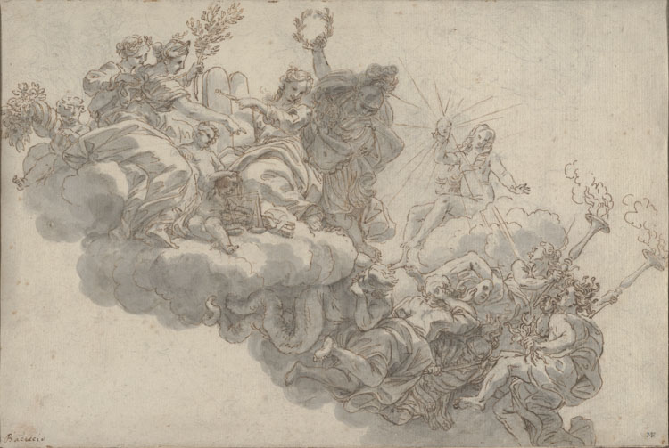 John D Reilly Collection Of Old Master Drawings Snite