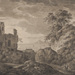 Franz Kobell (German, 1749–1822), <em>Italianate Landscape</em>, 1800, pen and black ink with wash on wove paper, 7.94 x 12.25 inches. Gift of Mr. John D. Reilly '63, 2014