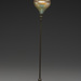 Louis Comfort Tiffany (American, 1848–1933), <em>Candlestick</em>, glass and bronze, 20 inches. Gift of Mrs. Frank E. Hering, 1957.007.032