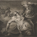 James Barry (Irish, 1741–1806), <em>King Lear and Cordelia</em>, 1776/ca. 1790, etching and engraving, 19.5 x 22.2 in (sheet). The William and Nancy Pressly Collection acquired with funds made available by the F. T. Stent Family, 2015.001.001