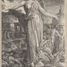 James Barry (Irish, 1741–1806), <em>Minerva Turning from Scenes of Destruction and Violence to Religion and the Arts</em>, ca. 1805, etching. The William and Nancy Pressly Collection acquired with funds made available by the F. T. Stent, 2015.001.012