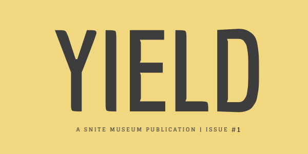 YIELD Magazine | Issue #1