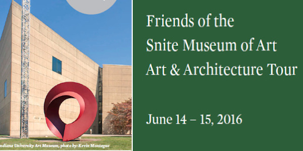 Bus trip to <br/>IU Art Museum,<br/> & Brown County Sites<br>June 14-15, 2016