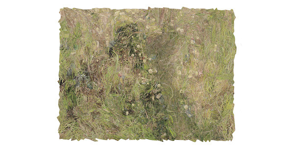 Jake Fernandez (Cuban-American, b. 1951), <em>South Bend Prairie II</em>, 2015, photo collage on Cannon paper. Acquired with funds provided by Humana Foundation Endowment for American Art, 2015.074
