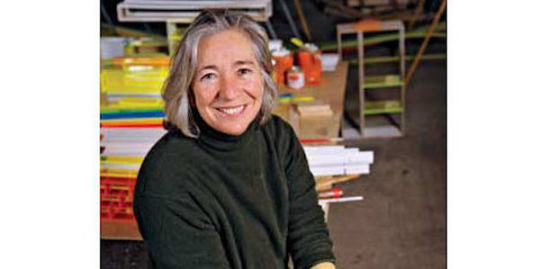Photo of artist Judy Pfaff who will speak at the Feb. 15 3rd Thursday @ the Snite event.