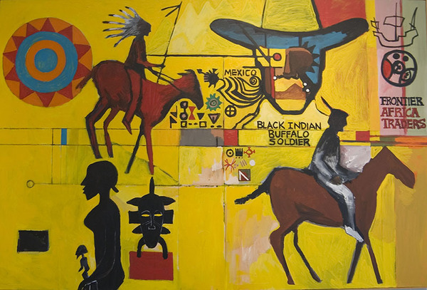Smblack Indian Buffalo Soldier By Bernard Williams 1 Copy