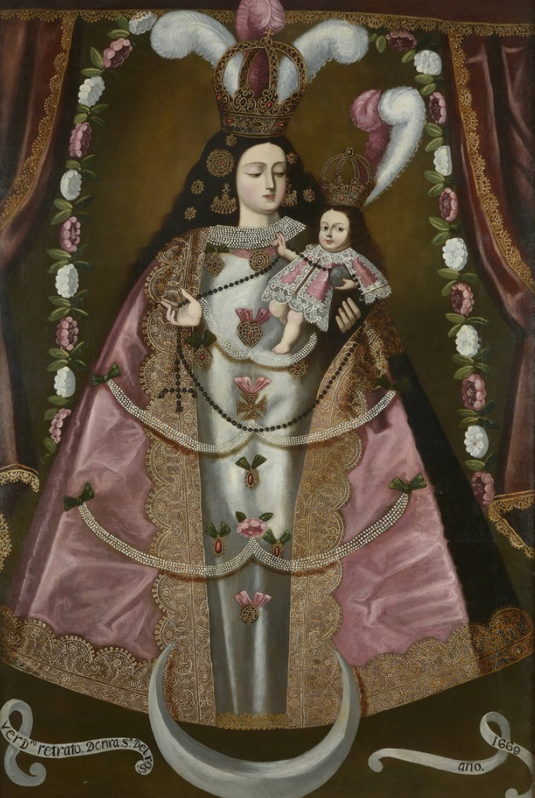 Divine Illusions: Statue Paintings from Colonial South America